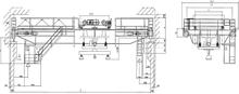 QL型旋轉電磁掛梁橋式起重機