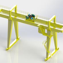 A型雙梁吊鉤門式起重機